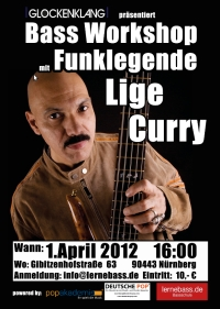 Funkbass Workshop Lige Curry